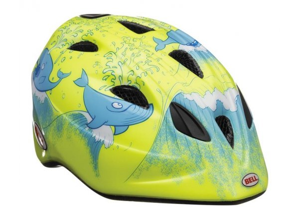 Helma BELL Tater hi-vis yellow whale
