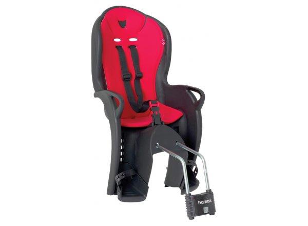 Dětská sedačka HAMAX KISS zadní Black/red
