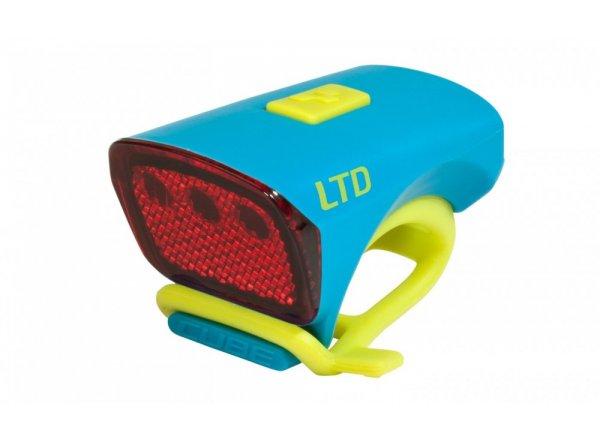 Zadní blikačka CUBE light LTD Blue/green