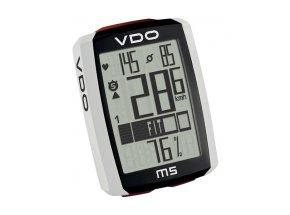 Computer VDO M5 WL - bezdrátový,s měřením tepu Black/white/red